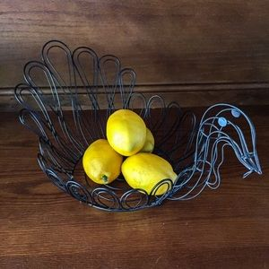 Other - Turkey Wire Metal Bowl